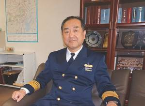 VADM Satoshi NAKAJIMA, Vice Commandant for Operations, Japan Coast Guard (Photo: Japan Coast Guard)