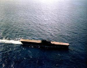 USS Enterprise (CV-6) (Official U.S. Navy Photograph)