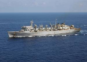 File photo: USNS Supply (U.S. Navy photo by Summer M. Anderson)