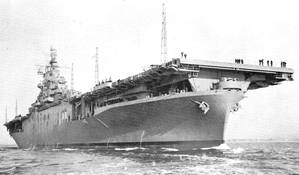 USS Yorktown (CV 10) (U.S. Navy photo)