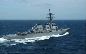USS Russell (DDG 59) (U.S. Navy photo by Melinda Larson)