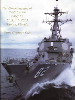 Cover of the Commissioning program, April 21 2001 at Tampa, Fla.