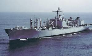 USS Mars (AFS 1) (U.S. Navy photo)