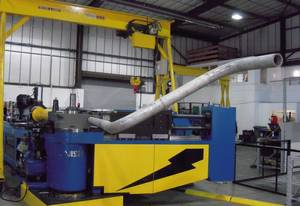 Unisons new machine brings the flexibility of all-electric pipe bending technology to large pipe sizes. Among many possibilities is the means to fabricate long and complex pipe shapes in single pieces.