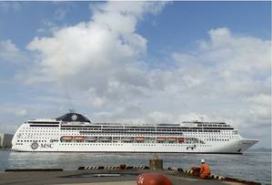 MSC Lirica (Photo: Wallem)