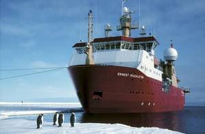 The operational success of the 1995-built RRS Ernest Shackleton is an exemplar of the Ecospeed coating's performance (Image: Subsea Industries)