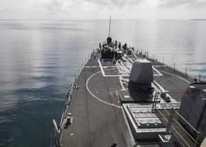 USS John S. McCain (DDG 56) (U.S. Navy photo by James Vazquez)