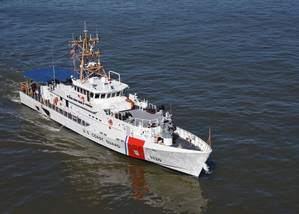 File photo: Coast Guard Cutter Robert Ward (U.S. Coast Guard photo by Jordan Akiyama)