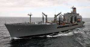 USNS Rappahannock: Photo credit USN