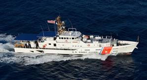 Bollinger built Fast Response Cutter Sentinel Class for the United States Coast Guard (Photo: Bollinger)