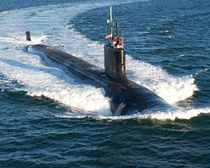 Virginia-class USS California: Photo credit USN