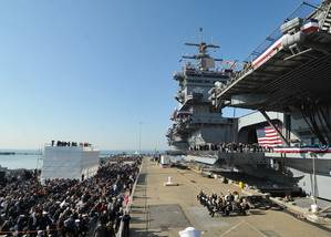 USS Enterprise Inactivation Ceremony: Photo credit USN