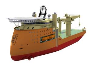 130214_Hyundai Heavy Wins Offshore Construction Vessel Order 3D Model.jpg
