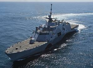 USS Freedom (Official U.S. Navy file photo.)