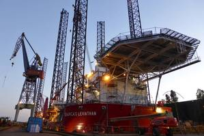 Seajacks Leviathan (Photo: Damen)