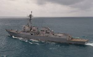 Official U.S. Navy file photo of USS Sampson (DDG 102).