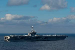 Official U.S. Navy file photo of the aircraft carrier USS Harry S. Truman (CVN 75)