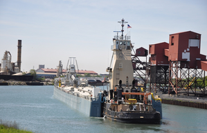 St. Marys Cement vessel Challenger in Chicago in 2014 (Photo: St. Marys Cement)