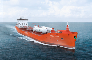 A 17,500 dwt chemical tanker owned by Rederiet Stenersen AS of Bergen, Norway. (Image: Rederiet Stenersen)