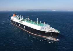 Hyundai Heavy Industries built Abdelkader, a 177,000 cu. m. Tri-Fuel Diesel Electric LNG Carrier which was named Great Ship of the Year in 2010 by Maritime Reporter & Engineering News.