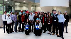 Lloyd's Register, sponsors of Sailors' Society's Woolly Hat Week, will be donning their woolly hats and holding a #HatHero collection to raise funds for seafarers and their families. (Photo: Sailors Society)