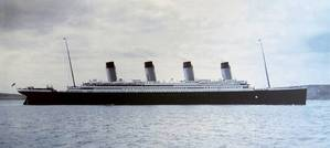 File photo: the Titanic pictured in Cobh Harbour, in April 1912 (Photo: Cobh Heritage Centre)