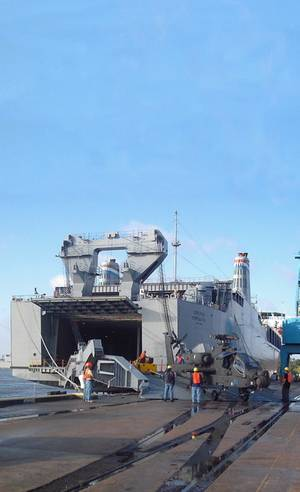 MV Cape Rise (Photo: Military Sealift Command)