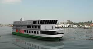 Ferry Design Winner in the 2013 Contest