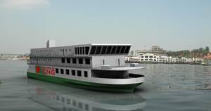 Ferry Design Winner in the 2013 Contest