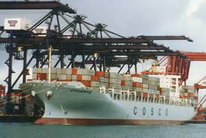 Photo: China Cosco Shipping