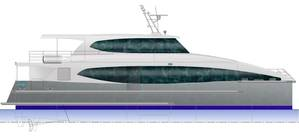 24m Catamaran Passenger Ferry Courtesy Strategic Marine
