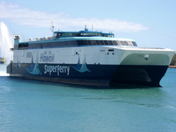 ex-Hawaai Superferry: Photo credit Austal