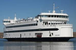 255 pax vehicle ferry Island Home, previously designed by EBDG for SSA