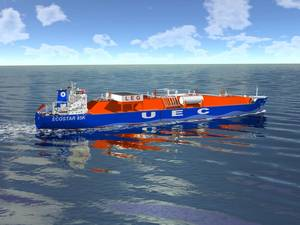 ECO Star 85k Very Large Ethane Carrier (Image: DNV GL)