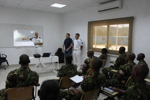 Second Basic Training Presentation of the Course, Photo: EUCAP Nestor