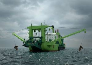 The worlds most powerful cutter dredger and the first to be fuelled by LNG, will rely on Wärtsilä propulsion solutions. (Photo: Wärtsilä)