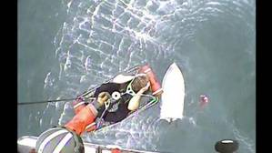 Screenshot: U.S. Coast Guard video courtesy of Air Facility Newport.