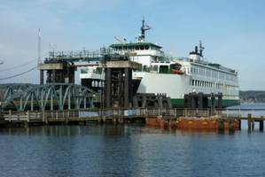 Existing Mukilteo Ferry Terminal (Photo courtesy of Washington State Dept of Transportation)