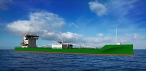 A new cement carrier for JT Cement will feature a 6-cylinder Wärtsilä 34DF main engine, making it the first bulk carrier to adopt Wärtsiläs multi fuel capability.