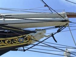 Cutty Sark Figurehead: Photo courtesy of Geograph CCL Christine Matthews