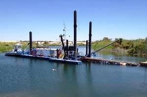Ellicott 860SL Swinging Ladder Dredge  (Photo: Ellicott Dredges)