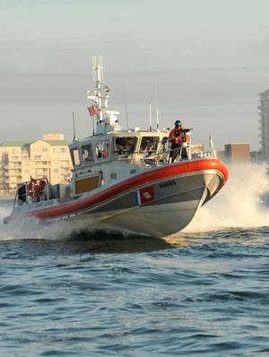 USCG Response Boat Medium (U.S. Coast Guard photo by Donnie Brzuska)