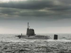 HMS Ambush on Trials: Photo credit Royal Navy