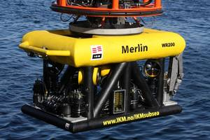 ROV, Merlin WR200: Photo credit IKM Subsea