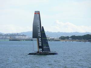 Americas Cup World Series Contestant: Photo credit CCL Team NZ