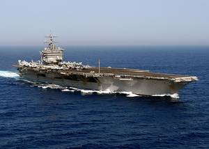 USS Enterprise (CVN-65). U.S. Navy photo by Photographers Mate Airman Rob Gaston
