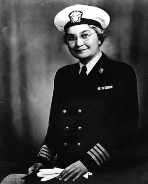 Captain Sue S. Dauser, (NC) USN (U.S. Navy photo, now in the collections of the National Archives)