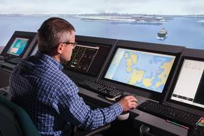 Ship simulator. (Image: VTT Technical Research Center of Finland)