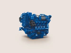 The EPA Tier 3 certified MTU 8V 4000 Ironmen marine engine will be on display at the upcoming International Workboat Show 2015 in New Orleans. (Image: Rolls-Royce)