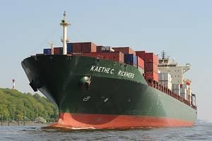 Kaethe C. Rickmers: Photo courtesy Port of Hamburg